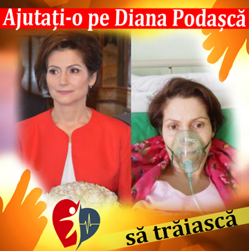 Ajutați-o pe Diana Podașcă să trăiască