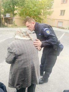 O bătrână bolnavă s-a rătăcit