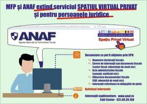 Un nou document poate fi accesat în Spaţiului Privat Virtual
