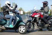 Mai multe motociclete înmatriculate