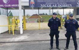 Jandarmeria asigură ordinea la derby