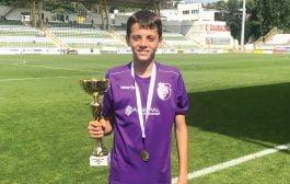 Mario Tudose la Naţionala României Under 15!
