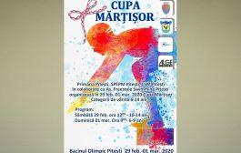 250 de participanţi la Cupa Mărţişor la Înot
