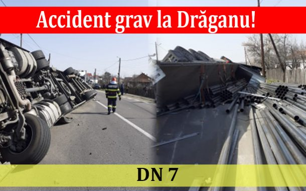 Accident grav la Drăganu!