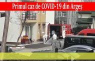 Primul caz de COVID-19 din Argeş