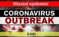 Bilanțul epidemiei în lume