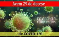 Avem 29 de decese de COVID-19!