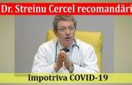 Dr. Streinu Cercel recomandări împotriva COVID-19 - video