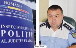 La Poliţia Argeş uite şeful, nu e șeful!