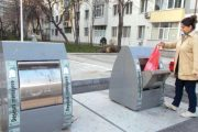 Containere de gunoi îngropate în cartiere