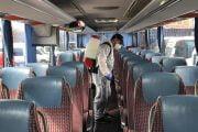 Microbuzele Piteşti - Mioveni, dezinfectate