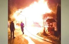 Le-a luat foc casa, în timp ce dormeau!