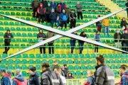 Meciurile, fără spectatori!