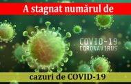 A stagnat numărul de cazuri de COVID-19