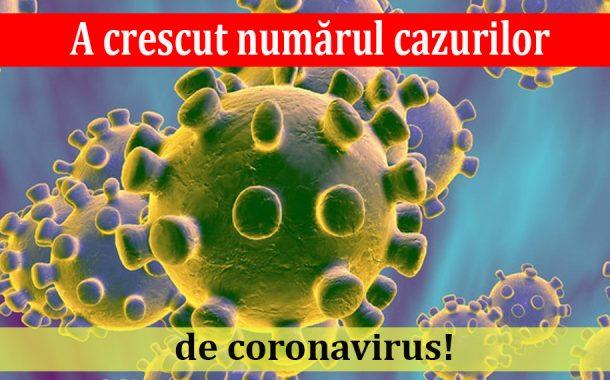A crescut numărul cazurilor de coronavirus!