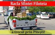Racla Sfintei Filoteia a trecut prin Pitești!