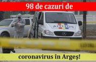 98 de cazuri de coronavirus în Argeş!