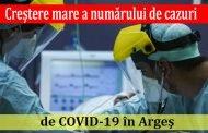 Creştere mare a numărului de cazuri de COVID-19 în Argeş