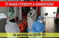O nouă creștere a numărului de pacienți cu COVID-19