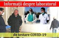 Informaţii despre laboratorul de testare COVID-19