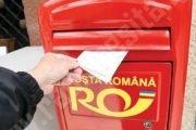 Indemnizaţia de hadicap trimisă prin mandat poştal