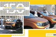 150 de maşini Dacia pentru personalul medical