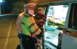 Copil găsit în râpă de polițiști