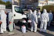Primăria Piteşti continuă dezinfectarea străzilor