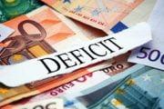 Deficitul bugetar s-a triplat