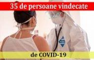 35 de persoane vindecate de COVID-19