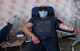 Jandarm vindecat, a donat plasmă!