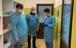 Laboratorul de testare COVID, vizitat de Rafila