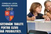 Tablete pentru elevii din Mioveni
