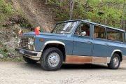 Test drive cu ARO  al lui Ceaușescu!