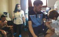 25 de fotbaliști, testați de doctori!