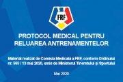 Protocol medical pentru antrenamente