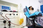 Tratament cu plasmă hiperimună la Spitalul Mioveni
