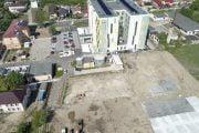 Parcare nouă la Spitalul din Mioveni