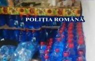 Alcool sanitar vândut ilegal, la un magazin din Nord!