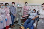 A donat plasmă de două ori pentru pacienții cu COVID-19