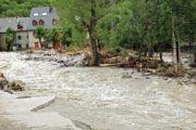 10 comune afectate de inundaţii!