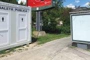 Toalete publice amplasate în parcuri