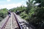A murit călcat de tren la Bradu!
