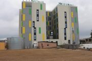 A început construcția parcării de la Spitalul Mioveni