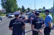 Poliţiştii şi jandarmii fac ample razii în oraş!