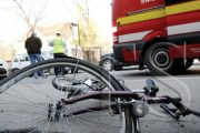 Beat, biciclistul a făcut accident