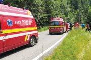 Echipaj SMURD detaşat pe Transfăgărăşan