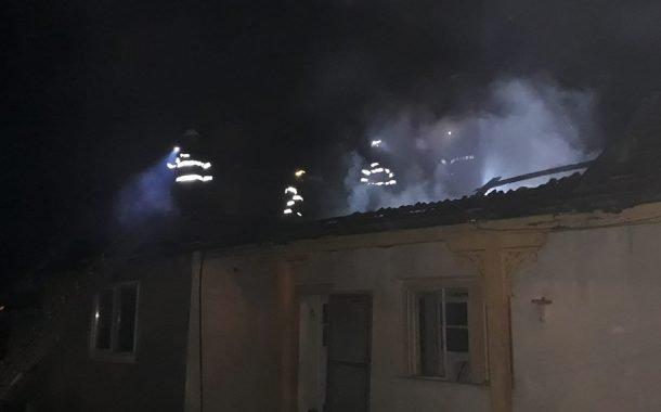 Incendiu la o casă din Aninoasa