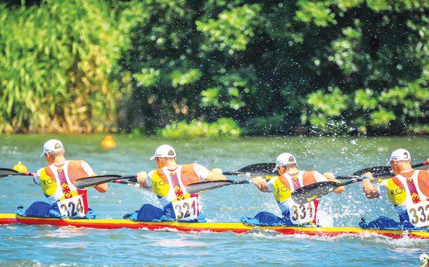 Campionatul European de Kaiac-Canoe de la Bascov, în octombrie!