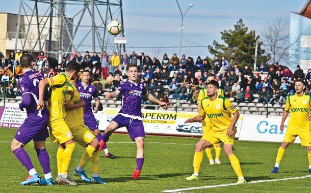 Meciul FC Argeş - CS Mioveni    a fost amânat!